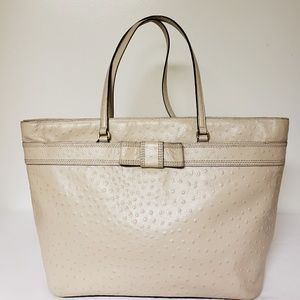 Kate Spade Pebble Ostrich Leather